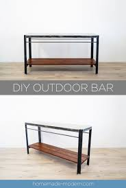 Diy outdoor bar Beach Ep128 Diy Outdoor Bar Homemade Modern Homemade Modern Ep128 Diy Outdoor Bar