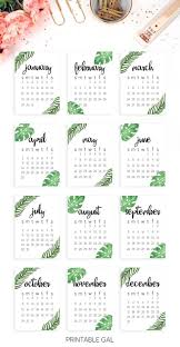 2017 calendar printable start the new year off right with this tropical minimalist 2017 printable calendar