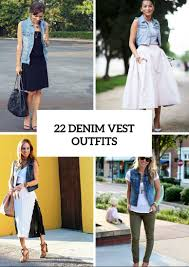Awesome summer outfits ideas for girls Casual Outfits 22 Awesome Outfits With Denim Vests To Try This Summer Styleoholic Women Summer Outfits Archives Page Of Styleoholic