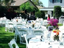 round wood table centerpieces simple for tables backyard wedding decorations with large center