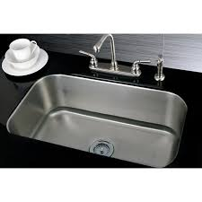 single bowl 30 inch stainless steel undermount kitchen sink free