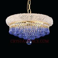 wide crystal chandelier slider index dressed with sapphire prisms 4 led pendant wide crystal chandelier