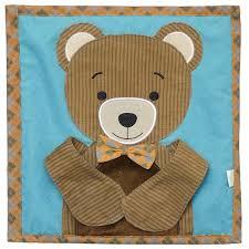 wuka brand quiet book kaboo bear