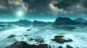 Ocean Background Hd Moonlight Stars And Ocean Waves 2 Video Background Hd 1080p Youtube