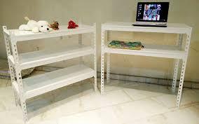 2 in 1 rack metal shelves diy storage rack