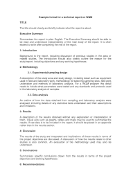 business professional report writing an abstract for a technical report protobike cz best photos of professional report writing template