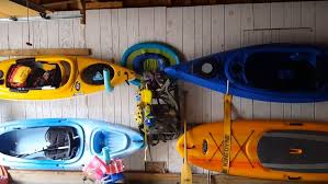 5 easy diy kayak storage ideas