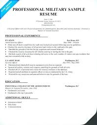 Military To Civilian Resume Examples Veteran Army Mysetlist Co