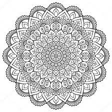 Mandala Indian Designs Vector Indian Mandala Stock Vector Vikasnezh 111256936