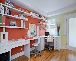 home office paint color ideas. colorful home office design paint color ideas
