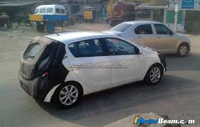 LHD Hyundai i20 Facelift Spotted Again