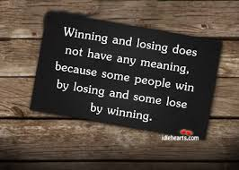 Quotes About Winning And Losing Fascinating Motivational Quote On Winning Winning Or Losing A Game Doesn't