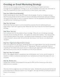 9 Email Marketing Examples Pdf Word