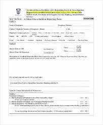 Incident Report Form Template Word Elegant School Incident Report