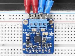 Overview Adafruit Max31865 Rtd Pt100 Or Pt1000 Amplifier