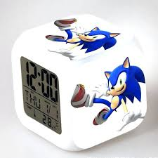 sonic alarm clock extremely super loud sonic