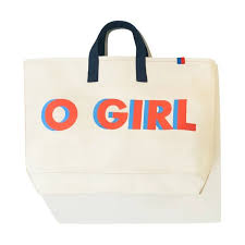 The <b>O GIRL</b> Tote - Canvas