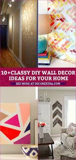 10 classy diy wall decor ideas for your home wall arts diy