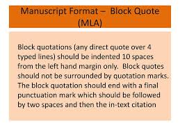 Top 18 Block Quote Mla Thinking Meme
