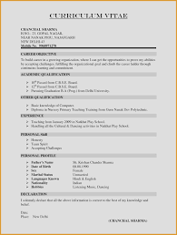 Different Resume Formats Lovely Formats For Resumes 23 Resumes