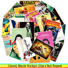 <b>25pcs Classic Movie</b> stickers Leon Amelie For Luggage Laptop Art ...