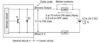 inductive proximity sensor wiring diagram inductive cylindrical inductive proximity sensor gx u gx fu gx n i o circuit on inductive proximity sensor wiring