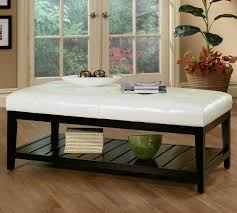 ultra modern black and white leather glass coffee table view here piece 5