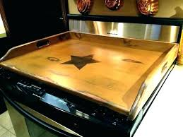 glass stove top protector cover protective