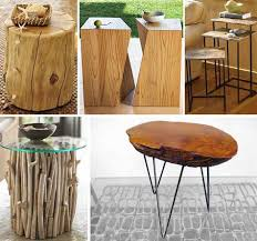 wood stump furniture. Tree Stump Nightstand Creative Design Of Trunk Side Table For Home Decoration Wood Furniture