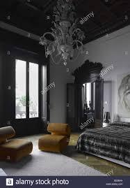 Elegante Einzigartige Studio Wohnzimmer Schlafzimmer In Einer