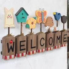 Welcome Home Decoration Ideas Inspiring Nifty Buy American Village Welcome  Sign Welcome Concept