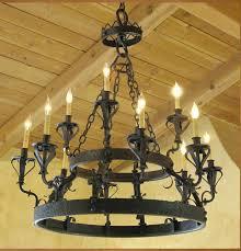 wrought iron light outstanding wrought iron chandelier wrought iron candle chandeliers two levels round black iron