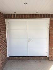 side hinged garage doorsSide Opening Garage Doors  eBay