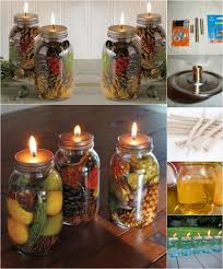 Decorative Oil Jars Fabulous DIY Scented Mason Jar Oil Candles DIY Crafts 58
