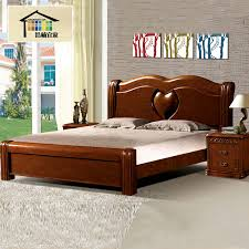 solid wood furniture bed adult 18 meters imported oak wood bed 3