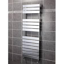 Install heated towel rail radiatorper item ML Building Direct
