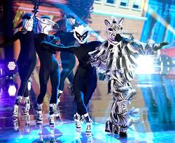 Guessing the identity of a celebrity dancer. The Masked Dancer Is Zebra A Performer Plus 3 Guest Panelists Revealed Video