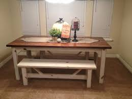 rustic kitchen table with bench rustic farmhouse table cool with regard to rustic farmhouse kitchen table