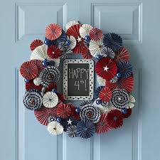 4th of july home decorating with wreaths on your door home