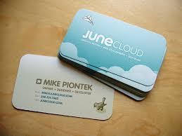 Business Cards Design Junecloud