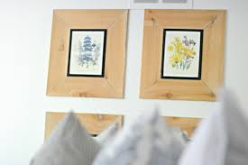 learn how to make these simple farmhouse frames for under 4