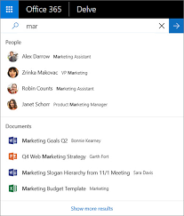 Delve Organization Chart How Can I Find People And Information In Office Delve