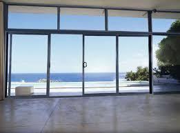 frosted glass sliding doors exterior