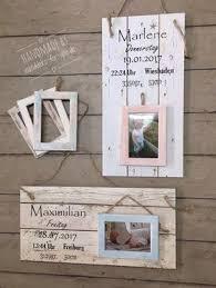 Geburtsschild Mit Bilderrahmen Vintage Spruchtextschild Sprüche