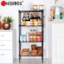 space saving 4 tier wire shelving rack adjule metal kitchen storage shelf pictures photos