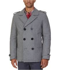 Nautica Sweater Size Chart Nautica Mens Military Inspired Pea Coat