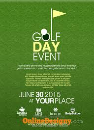 Designing A Golf Tournament Flyer Bing Images Golf Day