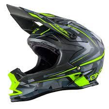 Oneal Helmets Size Chart O Neal 7 Series Camo Mx Motocross