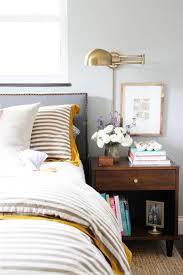 bedside sconce lighting. decor ideas bedside table brass lighting wall sconce bedroom design