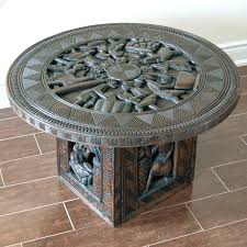 solid wood coffee table solid wood coffee table bountiful feast solid wood round coffee table canada